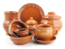 Vasele din argilă
