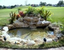 Декоративные пруды и фонтаны